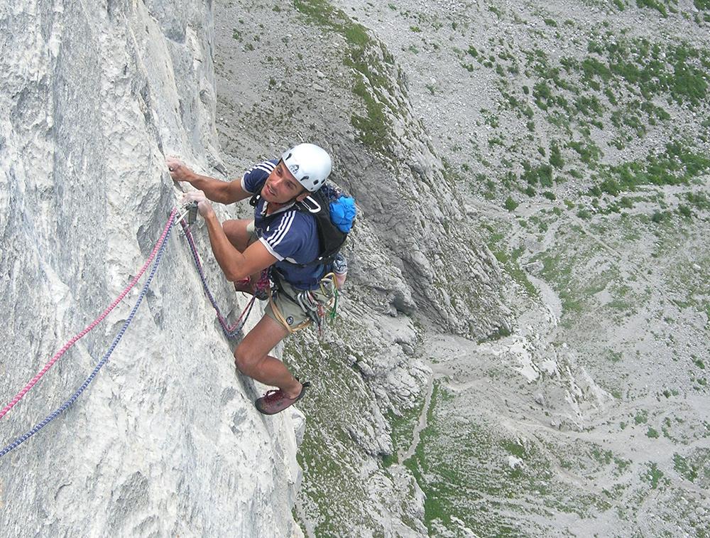 Vícedélkové lezení Ratikon