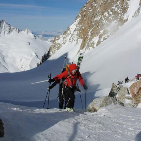 skialpový přechod Haute Route
